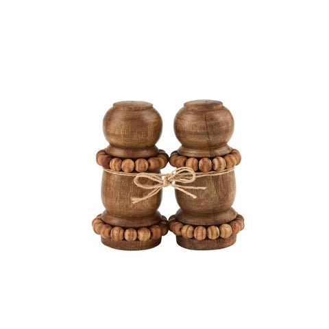 Wood Beaded Shakers