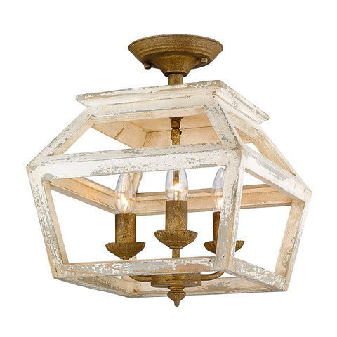 Caden Semi-Flush Light