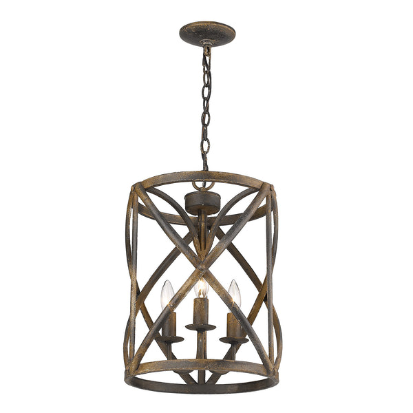 Allen 3 Light Chandelier