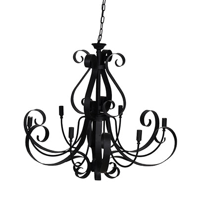 Phoebe Chandelier - Out of the Woodwork Designs