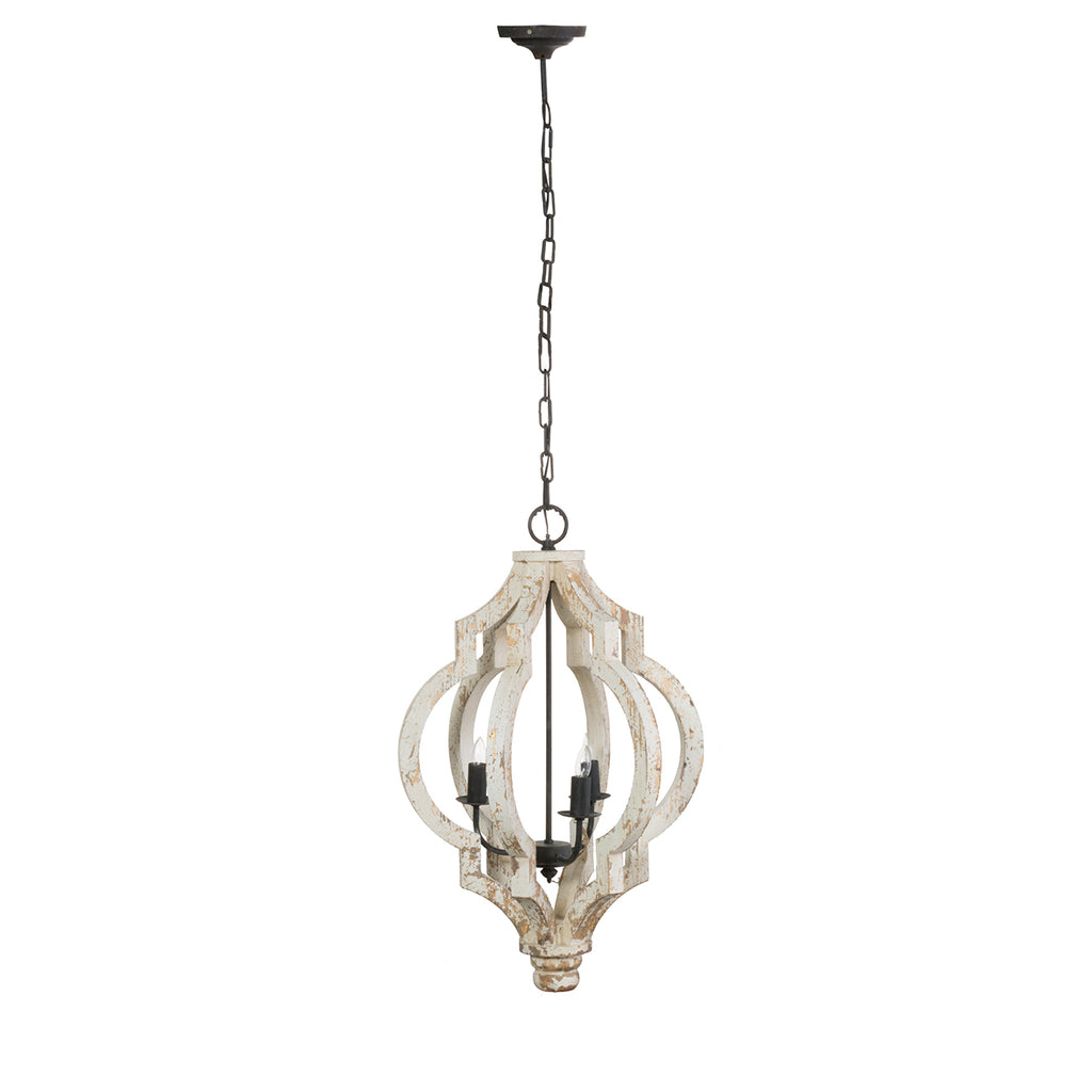 Abby 3 Light Chandelier - Out of the Woodwork Designs
