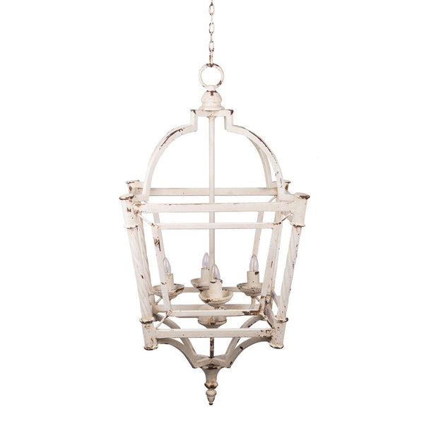 Abigail 4 Light Chandelier - Out of the Woodwork Designs