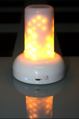 USB Rechargeable Flame Wave Module/ Candle - Out of the Woodwork Designs