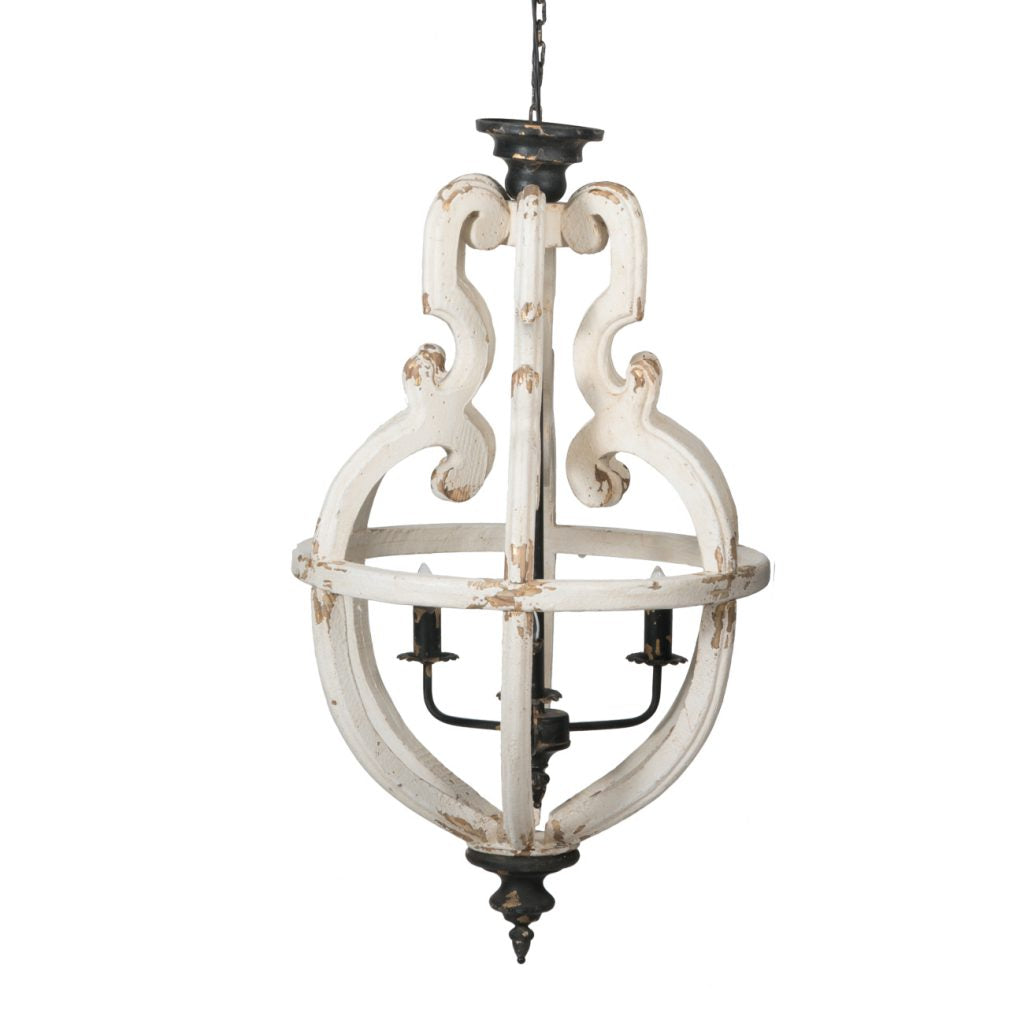 Faith 6 Light Chandelier - Out of the Woodwork Designs