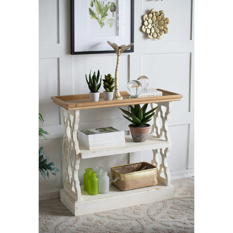 Three Tier Entry/ Shelf Table