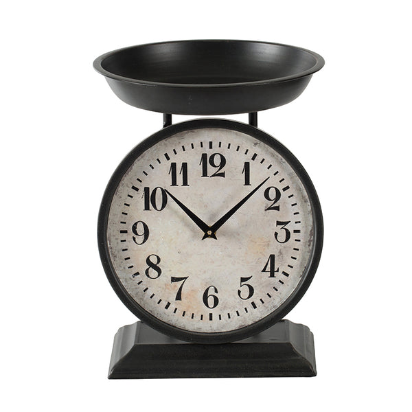 Table Scale Clock