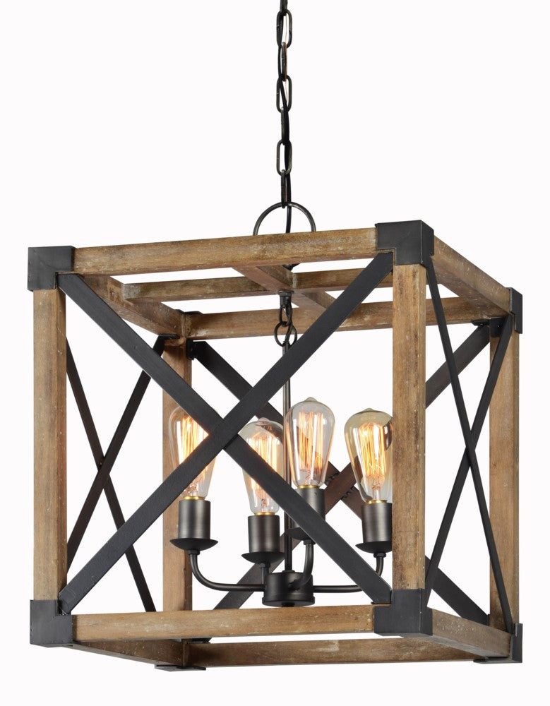 Shane 4 Light Chandelier* - Out of the Woodwork Designs