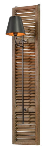Shutter Wall Sconce - Out of the Woodwork Designs