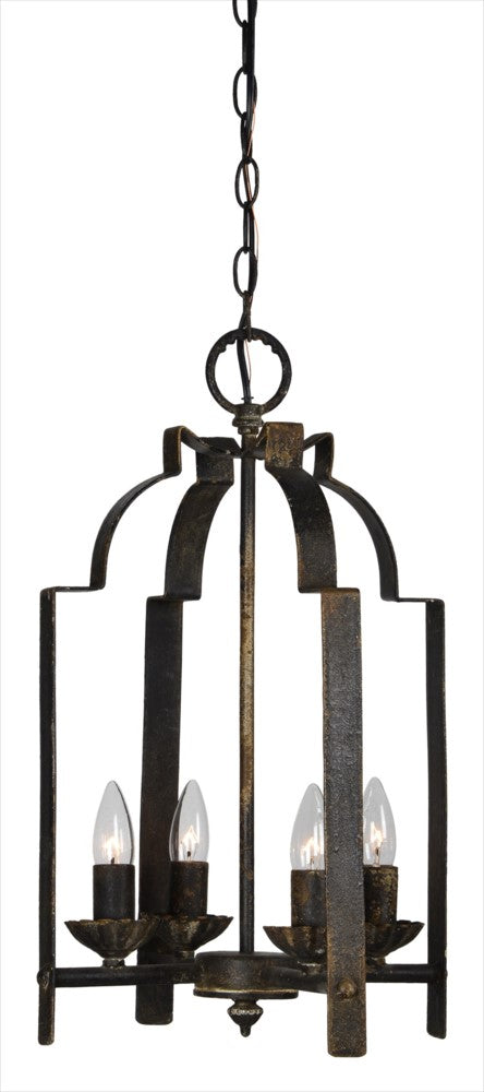 Quincy 4 Light Pendant- Chandelier* - Out of the Woodwork Designs