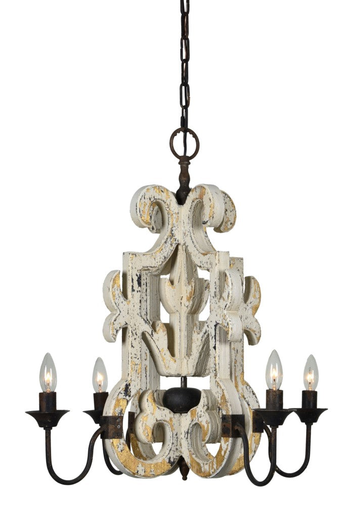 Watson 4 Light Chandelier* - Out of the Woodwork Designs