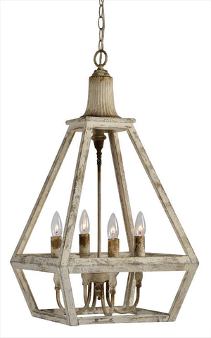 Addison Wood Chandelier - Out of the Woodwork Designs