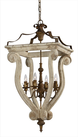 Tammi 4 Light Chandelier - Out of the Woodwork Designs