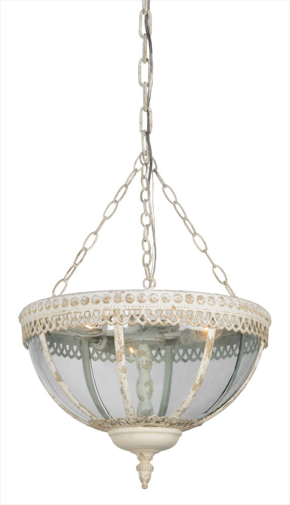 Megan 3 Light Chandelier - Out of the Woodwork Designs