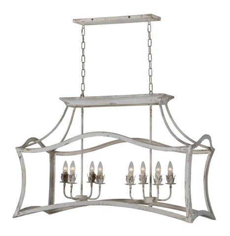 Courtney 8 Light Chandelier - Out of the Woodwork Designs