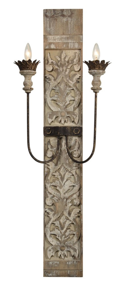 Talia Wall Sconce - Out of the Woodwork Designs
