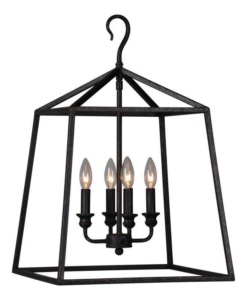 Jayden Lantern Chandelier - Out of the Woodwork Designs