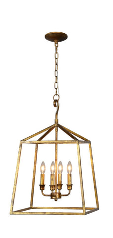 Brooke 4 Light Chandelier - Out of the Woodwork Designs
