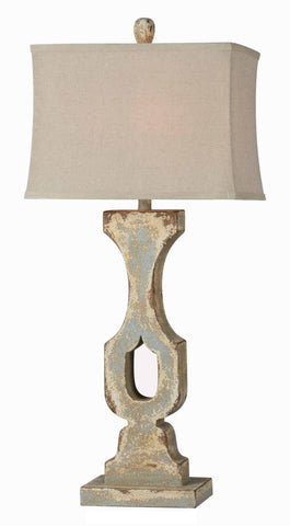 Jennifer Table Lamp - Out of the Woodwork Designs