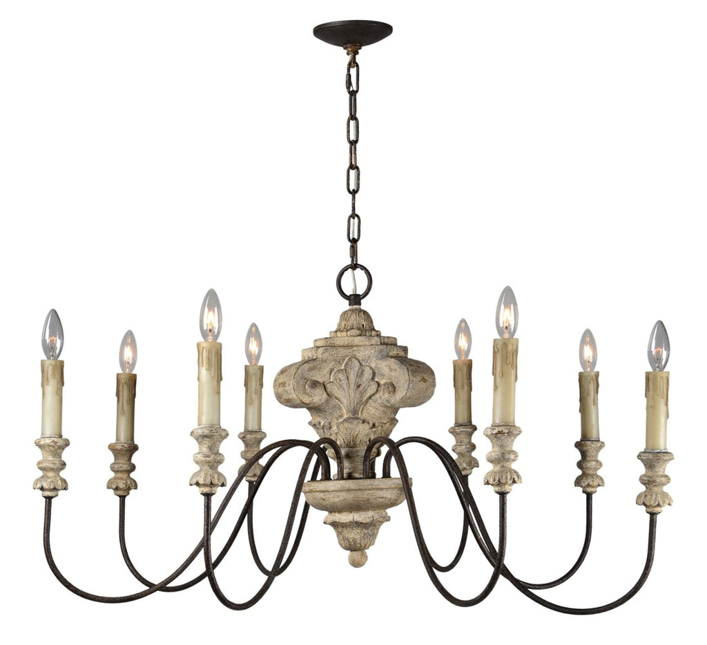 Ellen 8 Light Chandelier