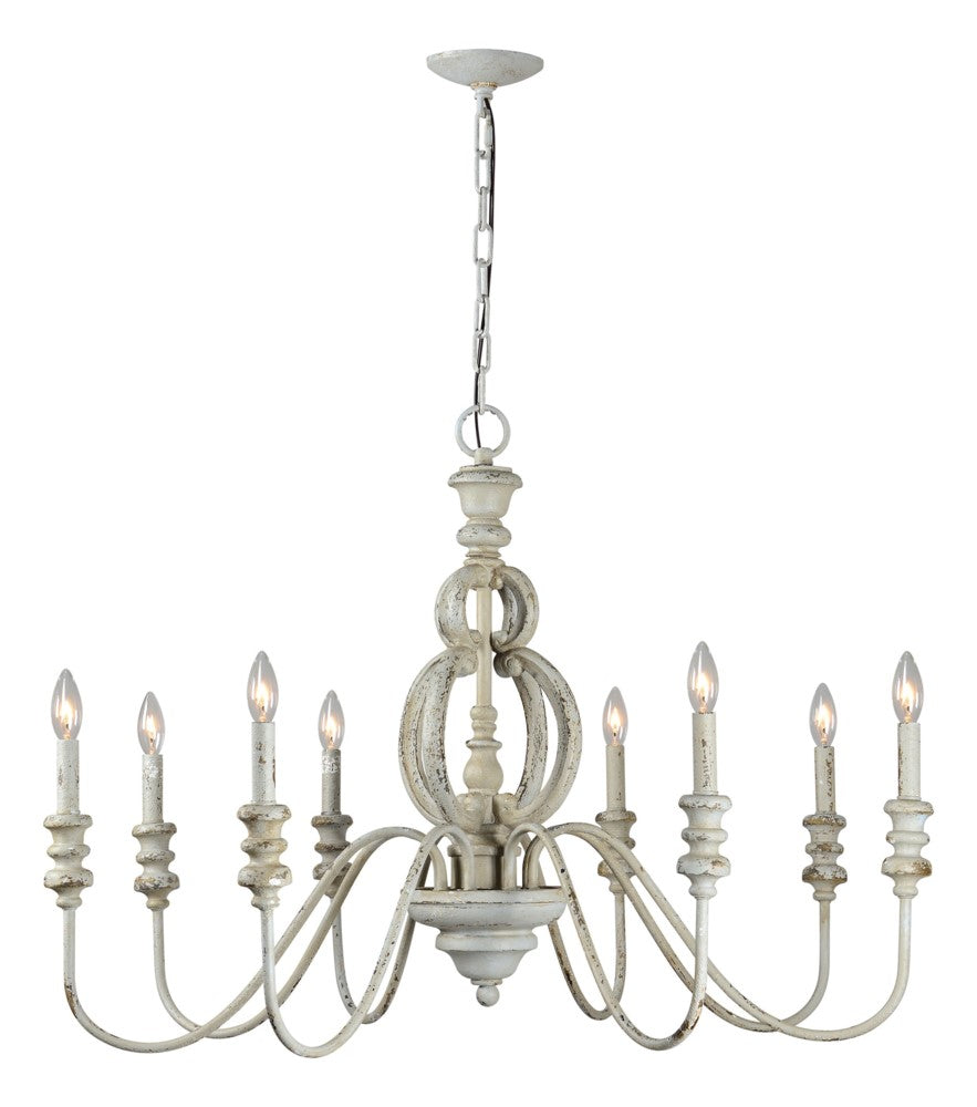 Margo 8 Light Chandelier* - Out of the Woodwork Designs
