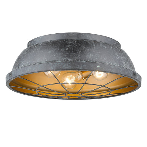 Bartlett 3 light Flush Mount - 3 Colors Available