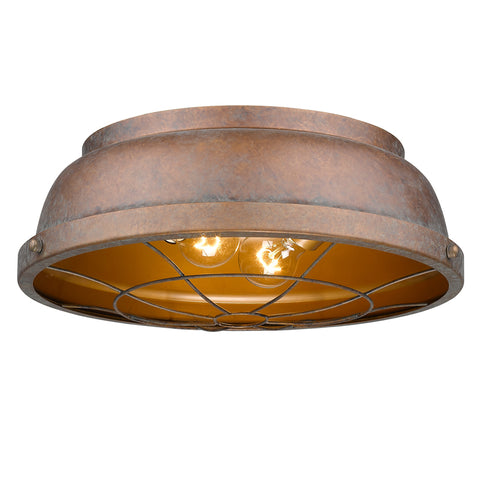 Bartlett 2 Light Flush Mount - 3 Colors Available