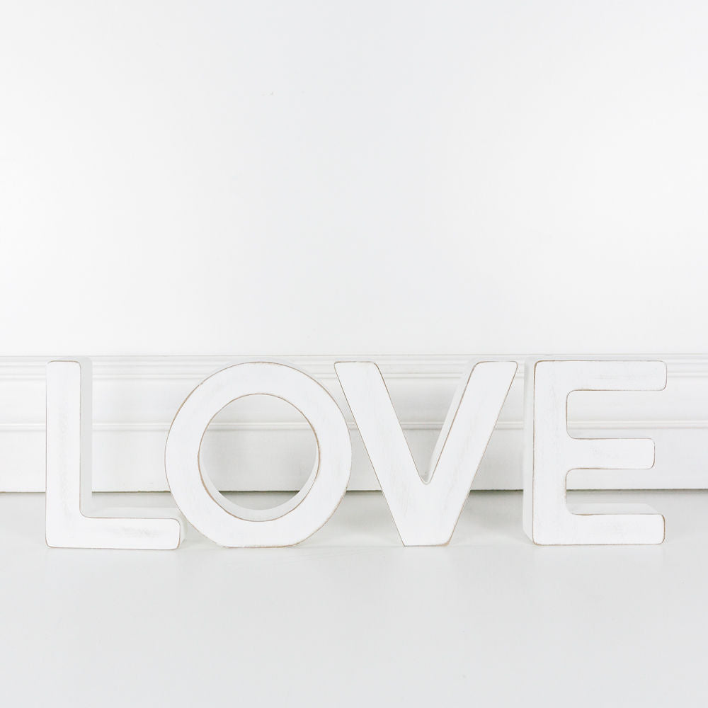 LOVE Cut Out Letters
