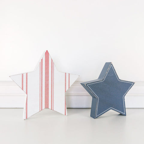Wooden 4th of July Stars