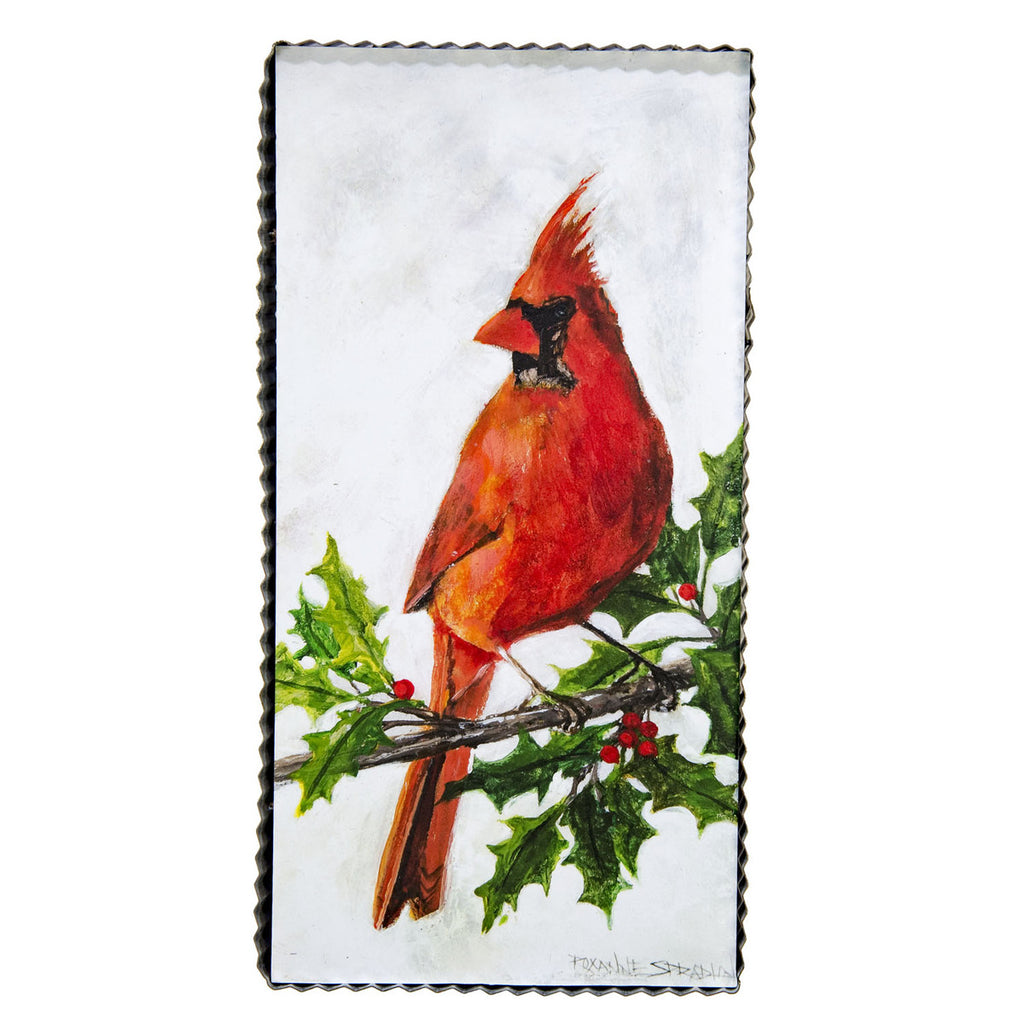 Cardinal tin pic - Out of the Woodwork Designs