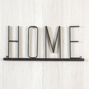 Home Metal Sign - Out of the Woodwork Designs
