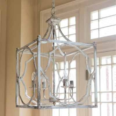Cassandra 4 Light Chandelier - Out of the Woodwork Designs
