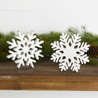 Snowflake- Set of Two
