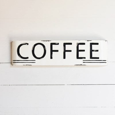 Coffee Marquis Sign