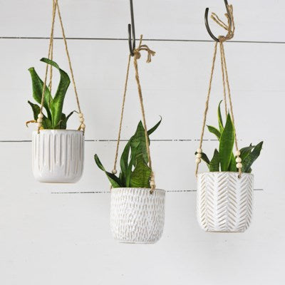 Hanging Pot Planter 3 Styles