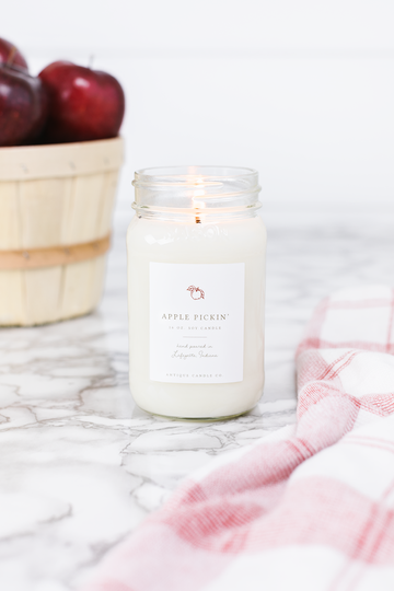 Apple Pickin 16 oz Candle - Out of the Woodwork Designs