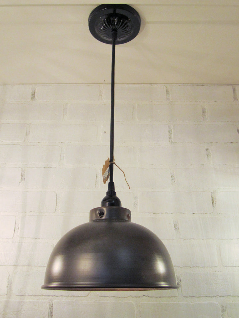 Metal Pendant Lighting Metal Oil Rubbed Bronze Dome Pendant Light Out Of The Woodwork