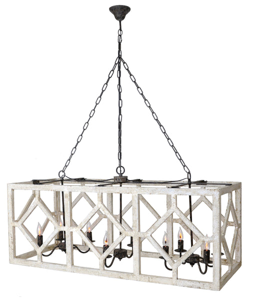 Iris Chandelier - Out of the Woodwork Designs