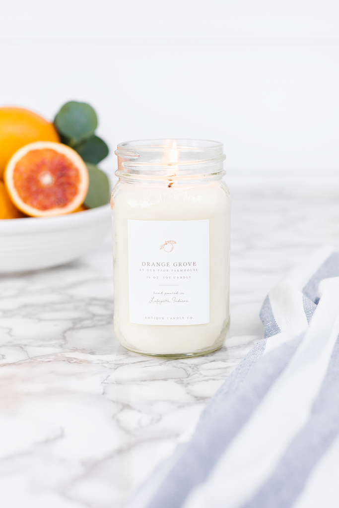 Orange Grove 16oz. Candle