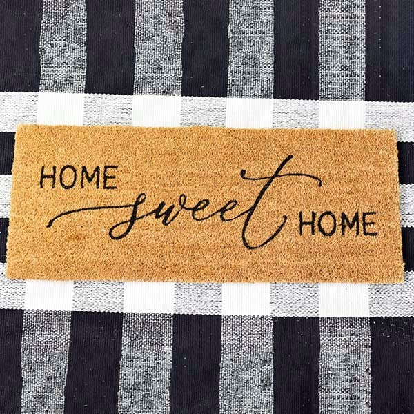 Home Sweet Home Long Doormat