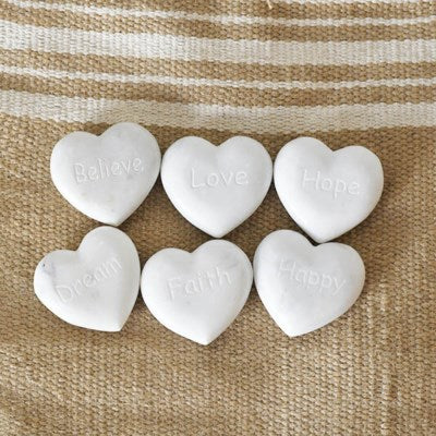 Marble Word Heart 6 Options
