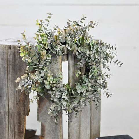 Eucalyptus Wreath 15 inch - Out of the Woodwork Designs