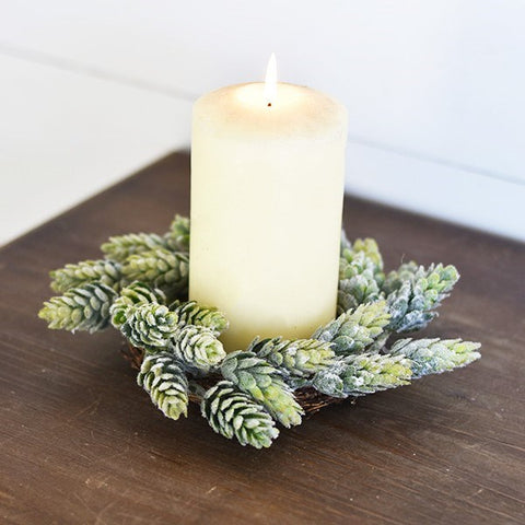 8 inch Hop Candle Ring - Out of the Woodwork Designs