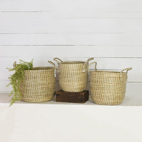 Seagrass Tub Basket-Large