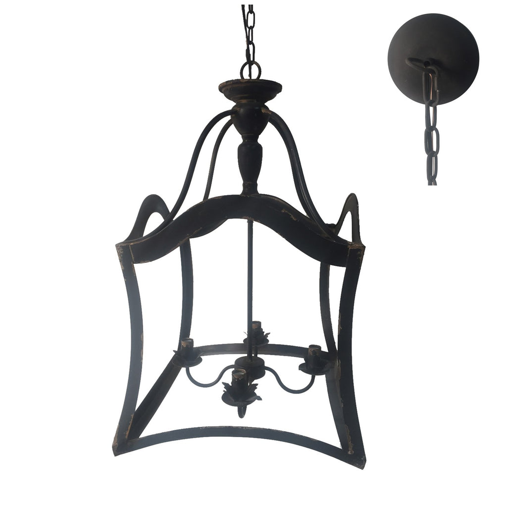 Breanna 4 Light Chandelier - Out of the Woodwork Designs