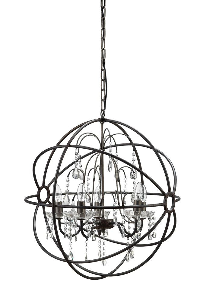 Kayla Chandelier - Out of the Woodwork Designs