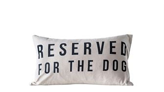 Reserved for the Dog Pillow - Out of the Woodwork Designs