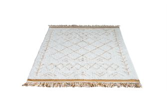 4' x 6' Cotton Rug with Fringe* - Out of the Woodwork Designs
