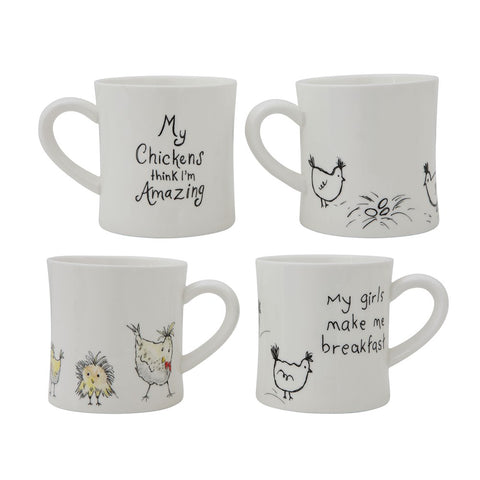 Chicken Mug- 2 Styles