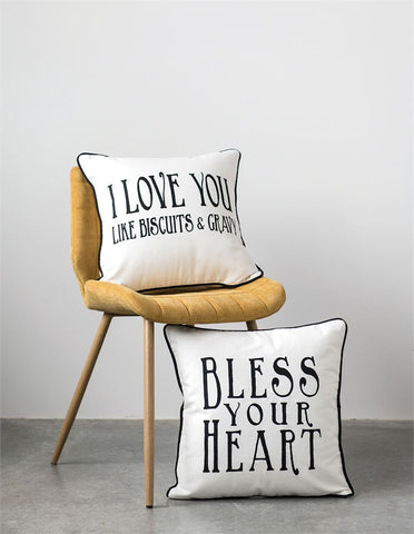 Pillow with Southern Sayings