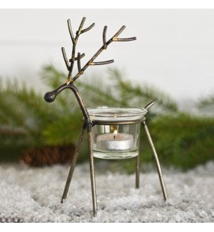 Reindeer Votive Candle Holder